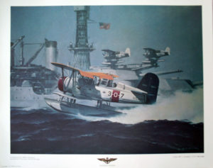 Curtis SOC-1 Scouting 3 USS Mississippi Print