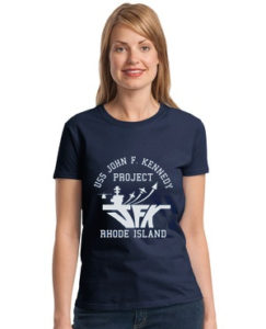 Ladies' USS JFK Shirt