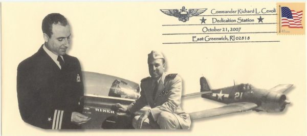 CDR Richard Cevoli Postal Cover